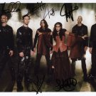 Within Temptation (Band) FULLY SIGNED Photo + COA Lifetime Guarantee