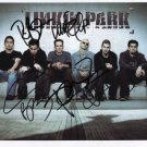 Linkin Park Chester Bennington + Others SIGNED  Photo + Certificate Of Authentication  100% Genuine