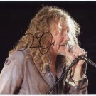 Robert Plant SIGNED Photo 1st Generation PRINT Ltd 150 + Certificate / 4