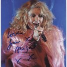 """Alison Goldfrapp SIGNED 8"""" x 10"""" Photo+ Certificate Of Authentication  100% Genuine"""