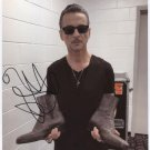 "Dave Gahan Depeche Mode SIGNED 8"" x 10"" Photo + Certificate Of Authentication  100% Genuine"