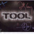 Tool (Band) Danny Carey FULLY SIGNED Photo 1st Generation PRINT Ltd 150 + Certificate / 9