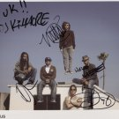 Incubus (Band) SIGNED Photo + Certificate Of Authentication  100% Genuine