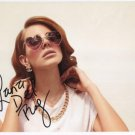 Lana Del Rey SIGNED Photo + Certificate Of Authentication 100% Genuine