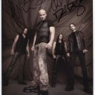 The Disturbed (Band) FULLY SIGNED Photo + Certificate Of Authentication  100% Genuine