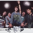 You Me At Six FULLY SIGNED Photo + Certificate Of Authentication 100% Genuine