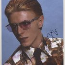 David Bowie SIGNED Photo + Certificate Of Authentication  100% Genuine