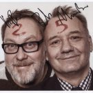 Vic Reeves & Bob Mortimer SIGNED Photo + Certificate Of Authentication 100% Genuine