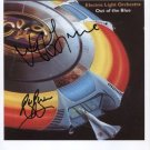 "E.L.O. Jeff Lynne & Bev Bevan SIGNED 8"" x 10"" Photo + COA  100% Genuine"
