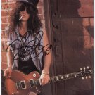 Slash (Guns N Roses Guitarist) SIGNED Photo 1st Generation PRINT Ltd 150 + Certificate / 10