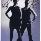 Scissor Sisters Jake Shears Anna Mantronic SIGNED Photo + Certificate Of Authentication