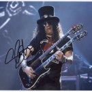 Slash Guns N Roses Guitarist SIGNED  Photo + Certificate Of Authentication 100% Genuine