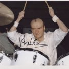 """Phil Collins SIGNED 8"""" x 10"""" Photo + Certificate Of Authentication  100% Genuine"""