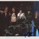 """Nightwish (Band) FULLY SIGNED 8"""" x 10"""" Photo + Certificate Of Authentication 100% Genuine"""