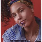 """Alicia Keys SIGNED 8"""" x 10"""" Photo Certificate Of Authentication 100% Genuine"""