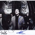 Rammstein FULLY SIGNED Photo + Certificate Of Authentication 100% Genuine