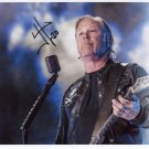 James Hetfield Metallica SIGNED Photo 1st Generation PRINT Ltd 150 + Certificate / 7