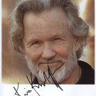 Kris Kristofferson SIGNED Photo 1st Generation PRINT Ltd 150 + Certificate / 6
