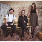 "The Lumineers (Band)  SIGNED 8"" x 10"" Photo + Certificate Of Authentication  100% Genuine"