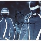 Daft Punk (Band) SIGNED Photo + Certificate Of Authentication 100% Genuine