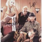 "No Doubt & Gwen Stefani FULLY SIGNED 8"" x 10"" Photo + Certificate Of Authentication 100% Genuine"