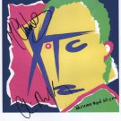 "XTC (Band) Colin Moulding + 1 SIGNED 8"" x 10"" Photo + Certificate Of Authentication  100% Genuine"