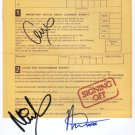 "UB40 (Band) Ali Campbell + 2 SIGNED 8"" x 10"" Photo + Certificate Of Authentication  100% Genuine"