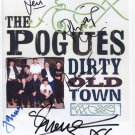 "The Pogues Shane MacGowan + 4 SIGNED 8"" x 10"" Photo + Certificate Of Authentication  100% Genuine"