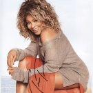"Tina Turner SIGNED 8"" x 10"" Photo + Certificate Of Authentication  100% Genuine"