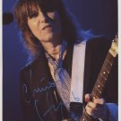 Chrissie Hynde The Pretenders SIGNED Photo + Certificate Of Authentication  100% Genuine