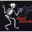 MIke Ness Social Distortion SIGNED Photo Certificate Of Authentication 100% Genuine