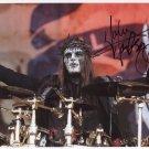 Slipknot Joey Jordison SIGNED Photo 1st Generation PRINT Ltd 150 + Certificate / 1