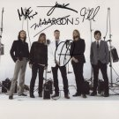 """Maroon 5 (Band) FULLY  SIGNED 8"""" x 10"""" Photo + Certificate Of Authentication  100% Genuine"""