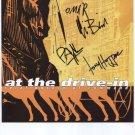 """At The Drive-In (Band) FULLY SIGNED 8"""" x 10"""" Photo + Certificate Of Authentication  100% Genuine"""