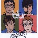 Blur (Band) Damon Albarn + 3 FULLY SIGNED Photo 1st Generation PRINT Ltd 150 + Certificate / 5