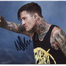 Suicide Silence Mitch Lucker SIGNED Photo 1st Generation PRINT Ltd 150 + Certificate / 4