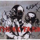 Blur (Band) Damon Albarn + 3 FULLY SIGNED Photo 1st Generation PRINT Ltd 150 + Certificate / 8