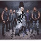 """Battle Beast (Band) FULLY SIGNED 8"""" x 10"""" Photo + Certificate Of Authentication 100% Genuine"""