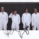 """Weezer (Band) FULLY SIGNED 8"""" x 10"""" Photo + Certificate Of Authentication 100% Genuine"""