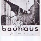 "Peter Murphy Daniel Ash Bauhaus SIGNED 8"" x 10"" Photo + Certificate Of Authentication  100% Genuine"