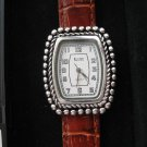 Genuine Leather Strap KRISTINE Quartz Women's Watch