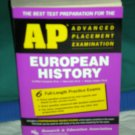 AP European History Prep w/tests SRP $19.99