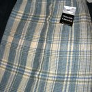 Sz 12 *New* Knife Pleated Plaid skirt - Made in Scotland