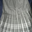 Size 10 *New* Grey Tones Box pleated skirt made in Scotland