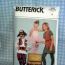 Children's Halloween Costume Pattern / Peter Pan Theme Butterick 4010