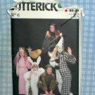 Adult Halloween Costumes - Butterick 3372 UNUSED