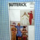 Halloween Costume Patterns Angel/Devil/Scarecrow/Indian Butterick4073
