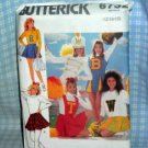 Cheerleader / Majorette Costume Pattern Butterick 6732