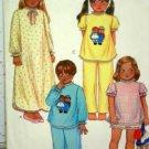 Child Sz Sm (4-6) Jammies 4 ways.... USED McCall's 7730