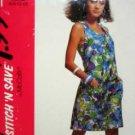Misses Sz (6-12) Jumpsuit ... EASY 'Stitch 'N Save' UNUSED McCalls 5921